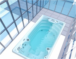 Minipiscinas y swim spa mini piscina nataci n for Mini piscinas prefabricadas